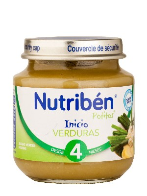 Nutriben verduras 130 gr
