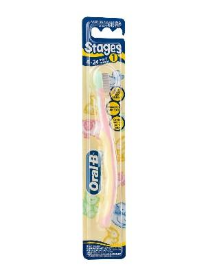Oral-b cepillo dental infantil stages 1 4-24 m