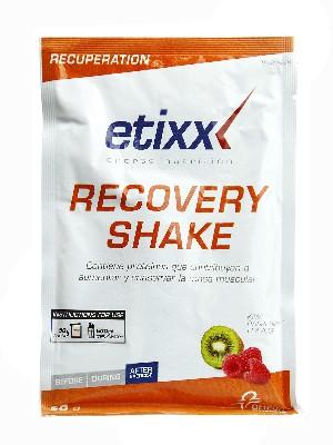 Recovery shake sabor franbuesa-kiwi de etixx,1 sobre de 50g