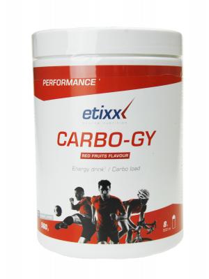 Etixx carbo-gy bebida energética sabor frutos rojos 560 gr