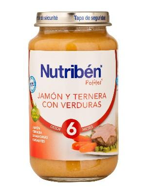 Nutriben jamon ternera verdura 250 gr