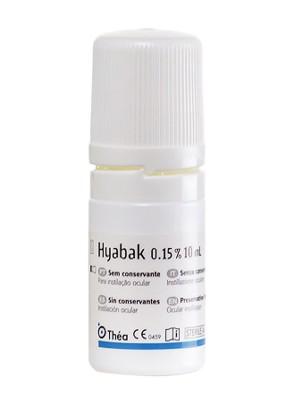 Hyabak solución oftálmica 0.15% 10 ml