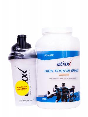 Etixx high protein shake vainilla  1000 g