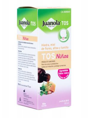 Jarabe de niños para la tos juanola tos 150ml