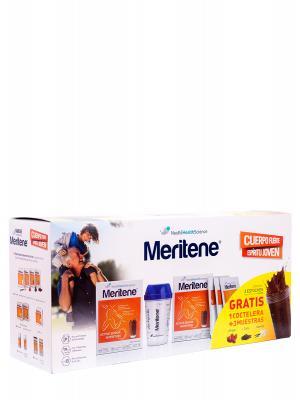 Pack meritene® chocolate 30 sobres + coctelera gratis + muestras