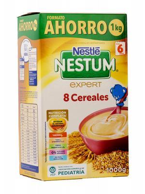 Cereales nestle nestum expert 8 cereales 1000 g