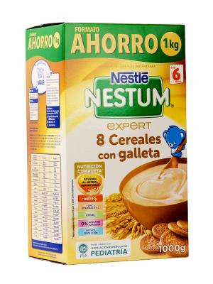 Cereales nestle nestum expert 8 cereales con galleta 1000 g