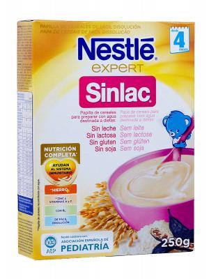 Nestlé expert sinlac papilla de cereales 250 g
