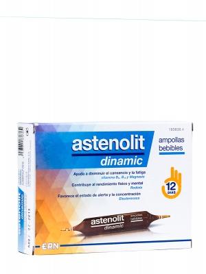 Ampollas bebibles astenolit dinamic 12 ampollas.