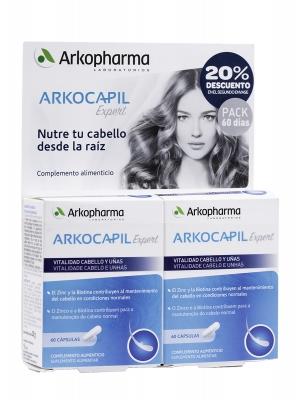 Arkocapil expert duplo 120 cápsulas. pack 60 días