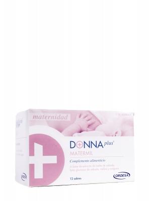 Donna plus matermil 12 sobres