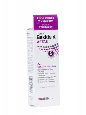 Gel para las aftas con ácido hialurónico bexident aftas