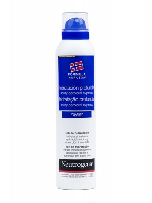 Neutrogena hidratación profunda express spray corporal 200 ml