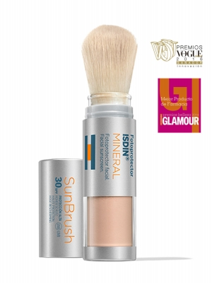 Isdin fotoprotector sun brush mineral spf 30+ 4gr