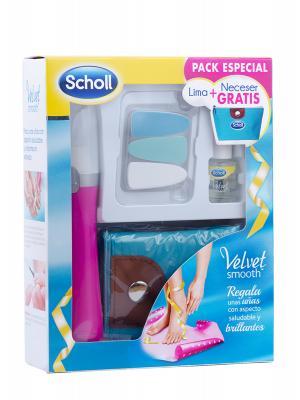 Lima para las uñas de dr scholl en rosa + regalo de neceser.