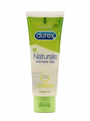 Durex lubricante naturals intimate 100ml