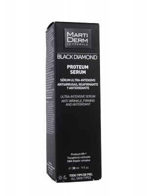 Martiderm ® black diamond proteum sérum 30 ml.