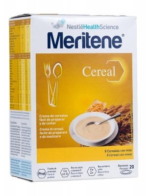 Crema de cereales meritene 8 cereales con miel 600g