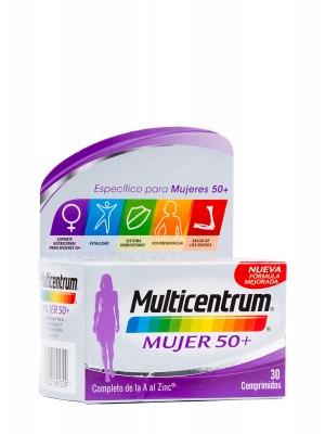 Multicentrum mujer 50 +30 comprimidos
