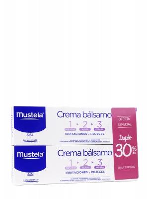 Mustela crema bálsamo 123 duplo 100 ml
