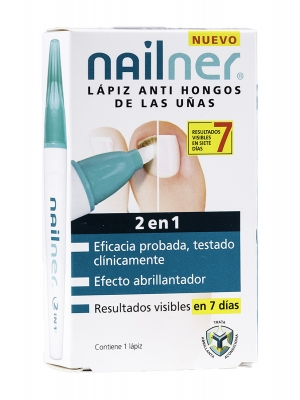 Nailner 2 en 1  4 ml