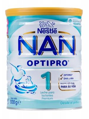 Nestlé nan 1 optipro 800 gr
