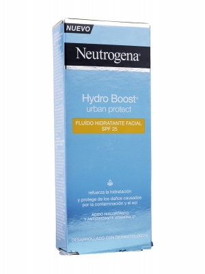 Neutrogena hydro boost urban protect spf 25 50 ml