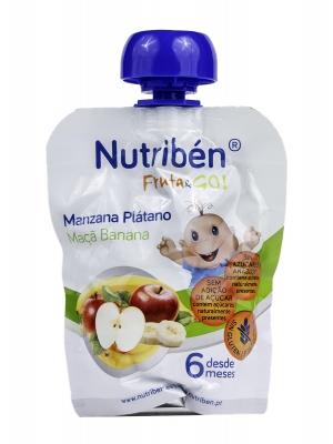 Nutriben fruta&go manzana platano 90g