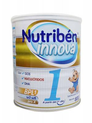 Leche para lactantes nutriben innova 1 800g