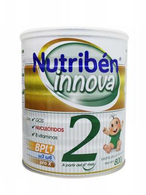 Leche para lactantes nutriben innova 2 800g