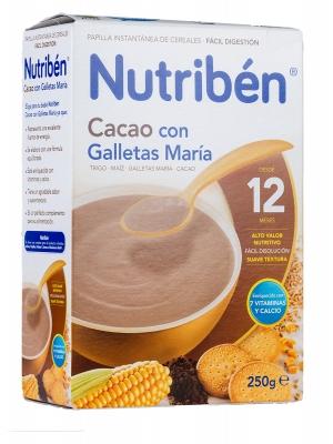 Nutribén cacao con galletas maría 250g
