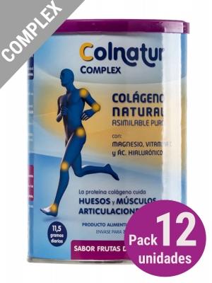 Pack 12 unidades colnatur® complex sabor frutas del bosque