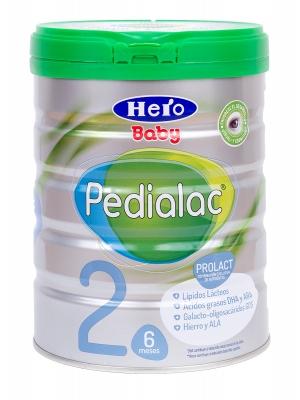 Hero baby pedialac 2 leche continuación 800 gramos