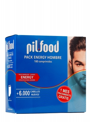 Pilfood pack energy hombre 3 meses