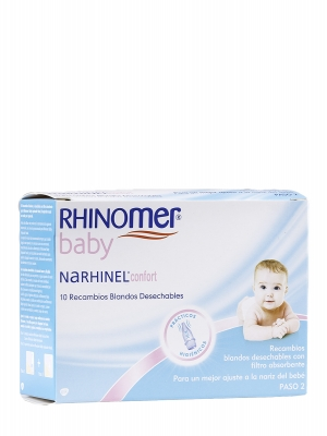 Narhinel 10 recambios desechables del aspirador confort