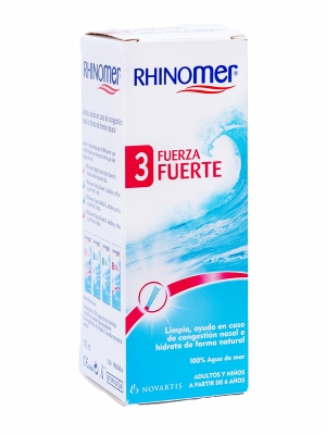 Rhinomer f-3 limpieza nasal nebulizador 135 ml