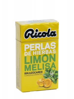 Ricola perlas limon-melisa s/a