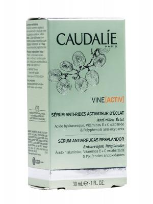 Vineactiv serum antiarrugas resplandor de caudalie 30ml.