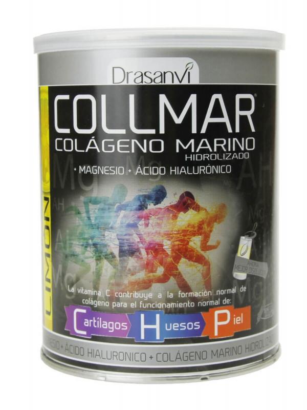 Collmar colágeno marino hidrolizado sabor limón 300gr