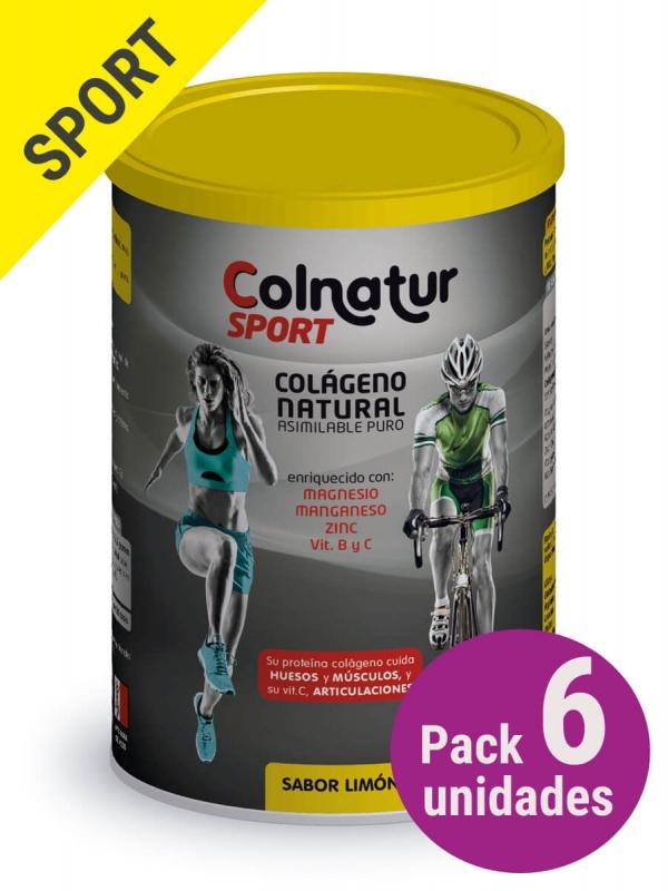 Pack 6 unidades colnatur® sport limón