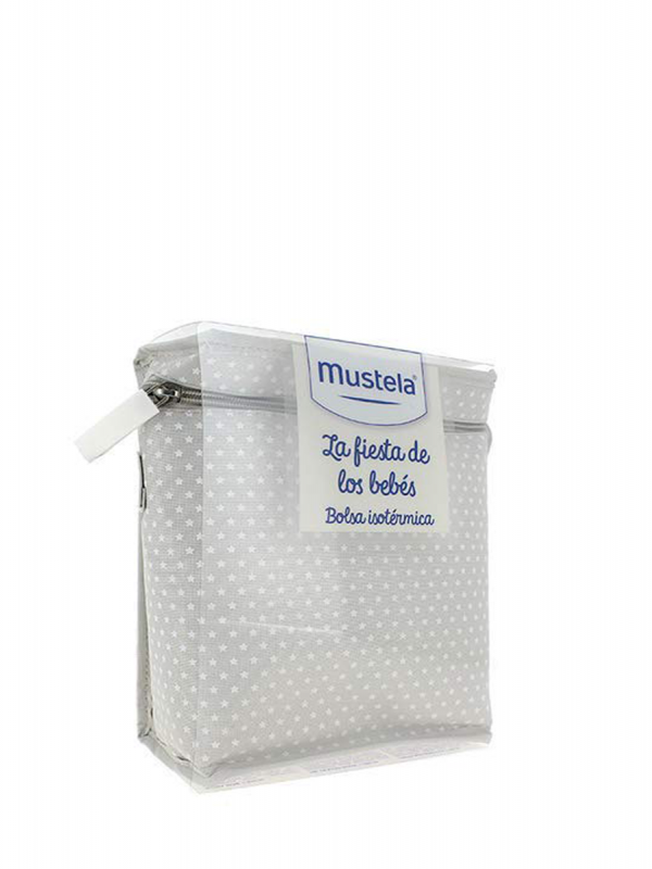 Mustela pack bolsa isotérmica gris