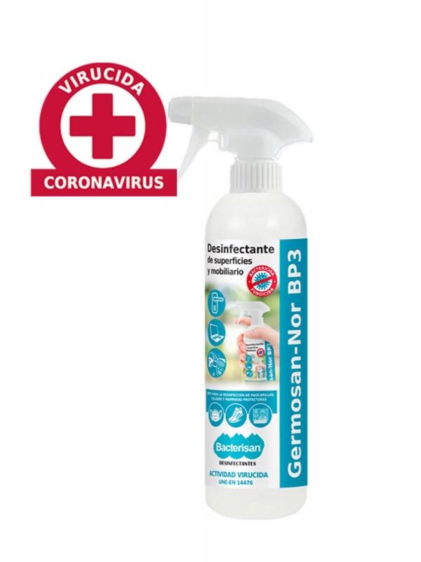 Germosan-nor bp3 spray desinfectante 750ml