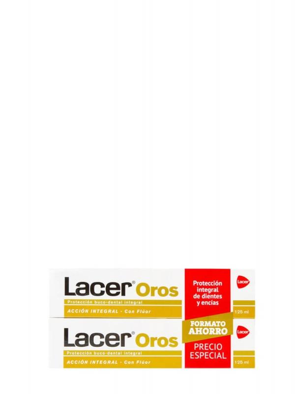 Lacer oros duplo pasta dental 2x125ml