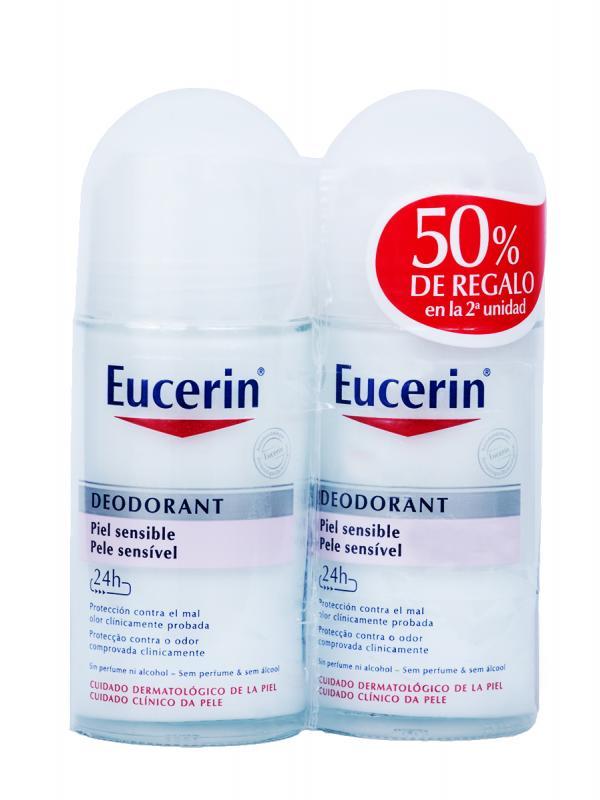 Eucerin desodorante duplo piel sensible