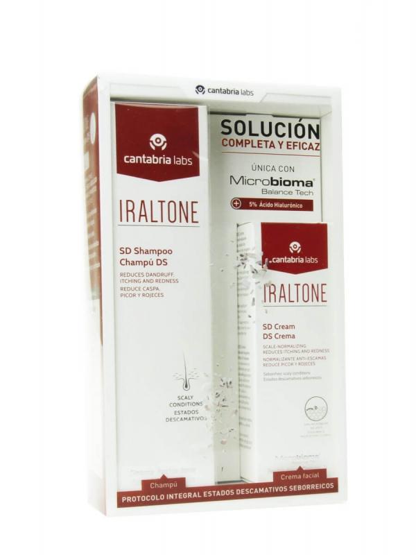 Iraltone pack champú ds 200ml + crema ds 30 ml