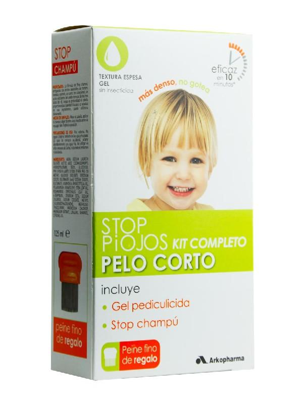 Stop piojos pack cabello corto