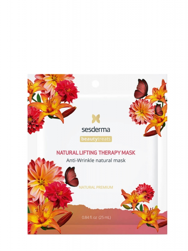 Sesderma natural lifting mascarilla facial antiarrugas 1 sobre 25ml