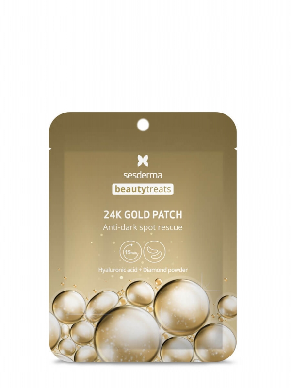 Sesderma 24k gold patch anti dark spot rescue parches antiojeras