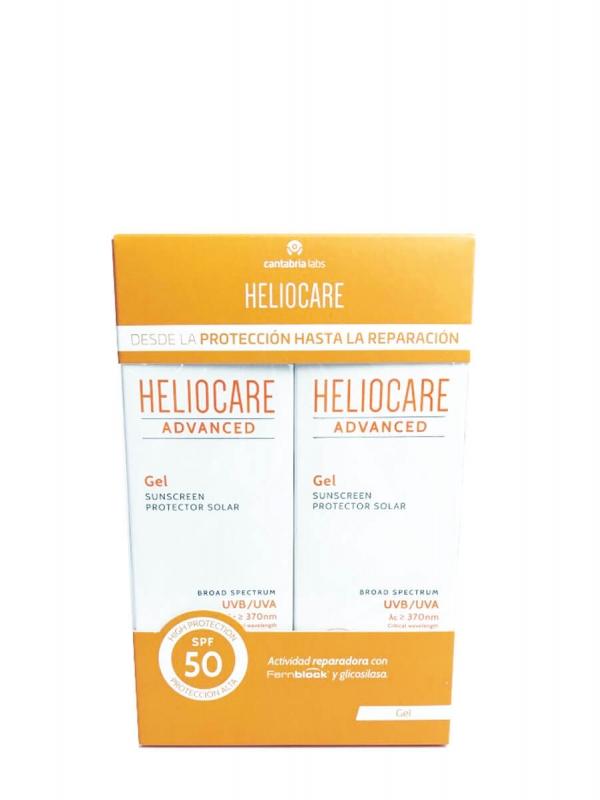 Heliocare advanced duplo gel spf 50 2x200ml