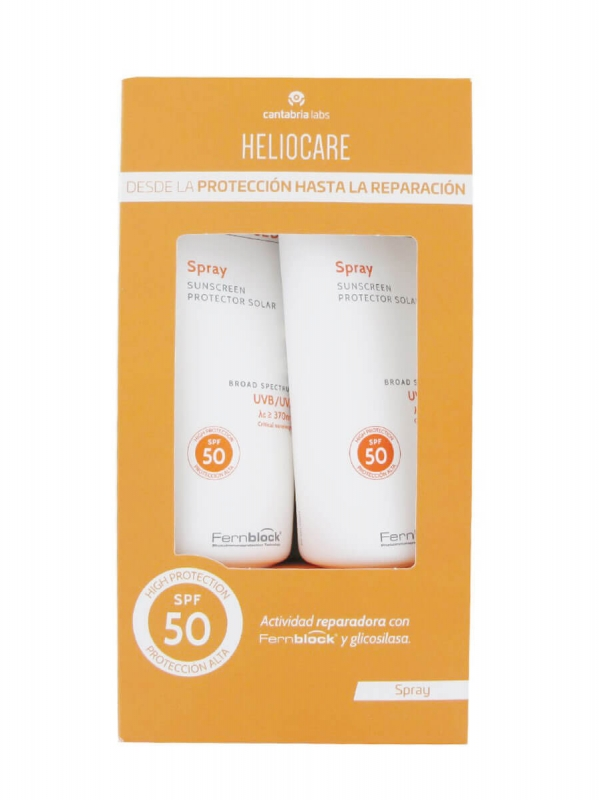Heliocare advanced duplo spray spf 50 2x200ml